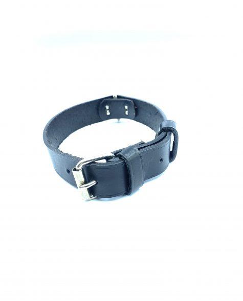 Collar para perro color negro