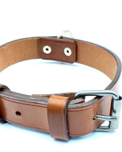 Collar para perro color natural